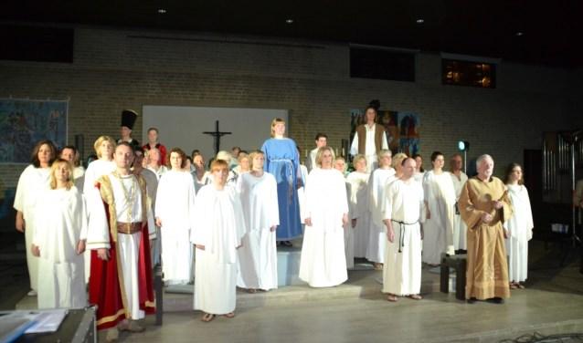 Dinsdag in de Nicolaaskerk in Denekamp: Jesus Christ Superstar door het gezelschap Studio'65.
