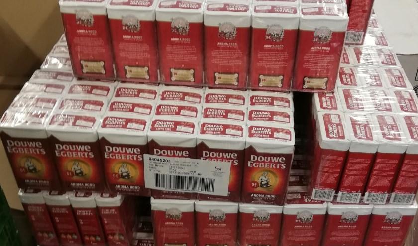 Koffie voor de voedselbank