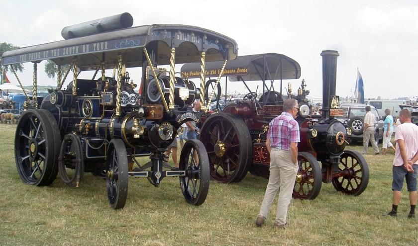 Zaterdag 17 augustus maken alle voertuigen een rondrit door de regio. De zondag staat in het teken van de verschillende defilés en diverse muzikale optredens. Eigen foto