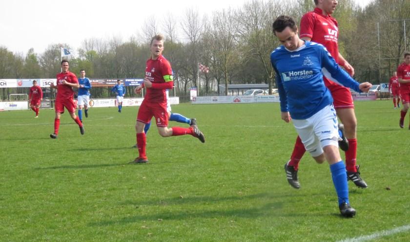 RWB heeft zondag met 3-0 verloren van Waspik.