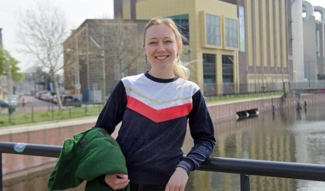 Leonie plaatst een serieuze kanttekening bij onze stad: discriminatie op basis van afkomst (Foto: Peter van Zetten).