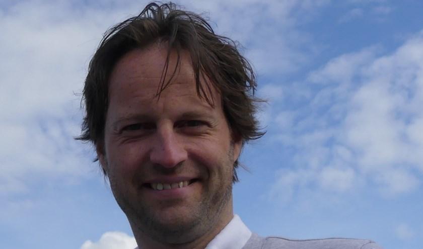 De kersverse voorzitter Martijn Maris van het CDA Wierden-Enter heeft veel zin om aan de slag te gaan. Eigen foto.