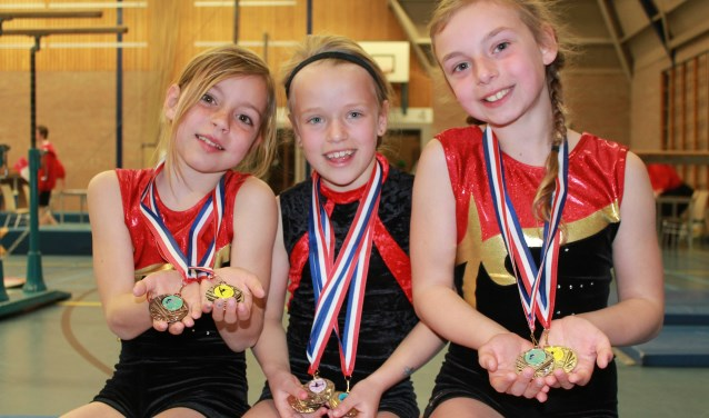 De jongste meisjes uit de eerste ronde.