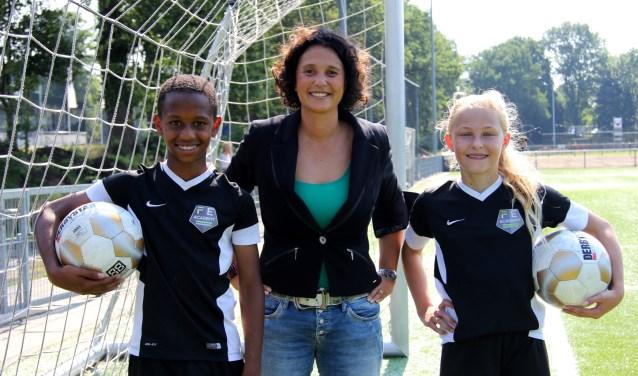 Mary Kok-Willemsen maakt een serie vlogs (in het Engels) over het WK voetval voor vrouwen. Foto: Marijke Kenkhuis