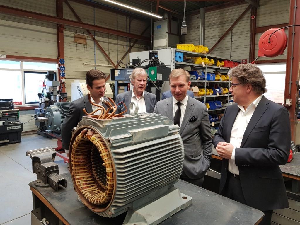 Techtron reviseert ook elektromotoren.  © Persgroep
