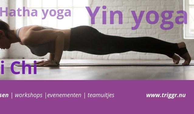 Yogalessen weer uitgebreid bij !Triggr