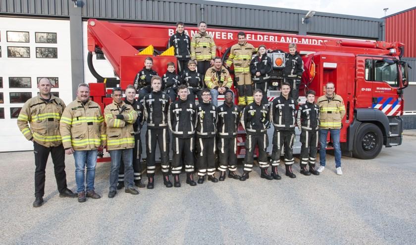 Tegenwoordige bestaat de jeugdbrandweer Wageningen uit zeventien jongens en meisjes en acht jeugdleiders en vormt een onderdeel van de brandweerregio Gelderland Midden.