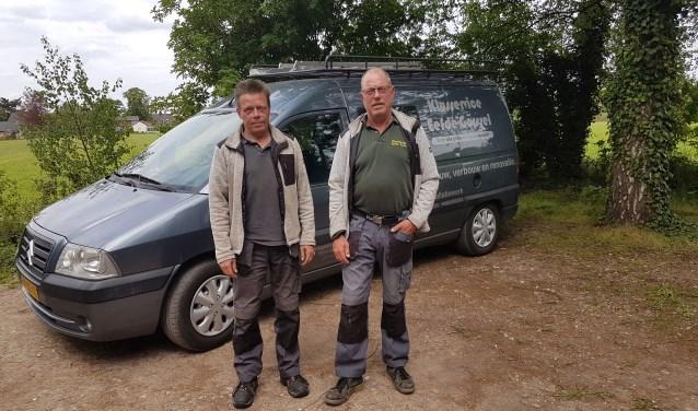 De broers Hans en Frank Reuver runnen sinds kort samen het allround Klusbedrijf  Klusservice Eefde-Gorssel