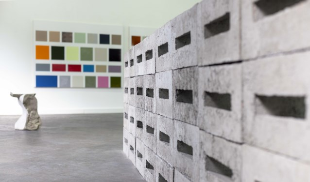 De iconische werken in de expositie Grenzeloos hebbenéén cruciaal ding gemeen: ze zijn overduidelijk beïnvloed door de stad Berlijn.