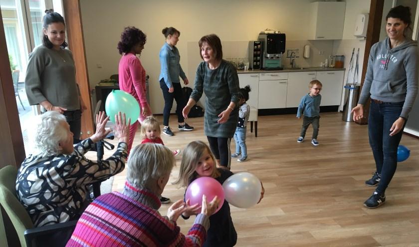 Op woensdag 24 april om 10.30 uur is er een gratis proefles bij Woonzorgcentrum Maria Dommer in Maarssen. Eigen foto