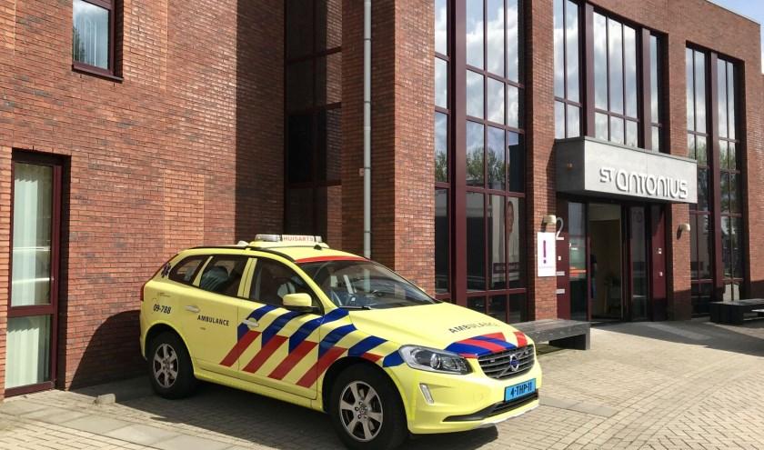 Huisartsenpost Houten sluit per 1 juli de deuren. Men is dan aangewezen op Nieuwegein. Foto: Marije ten Böhmer.