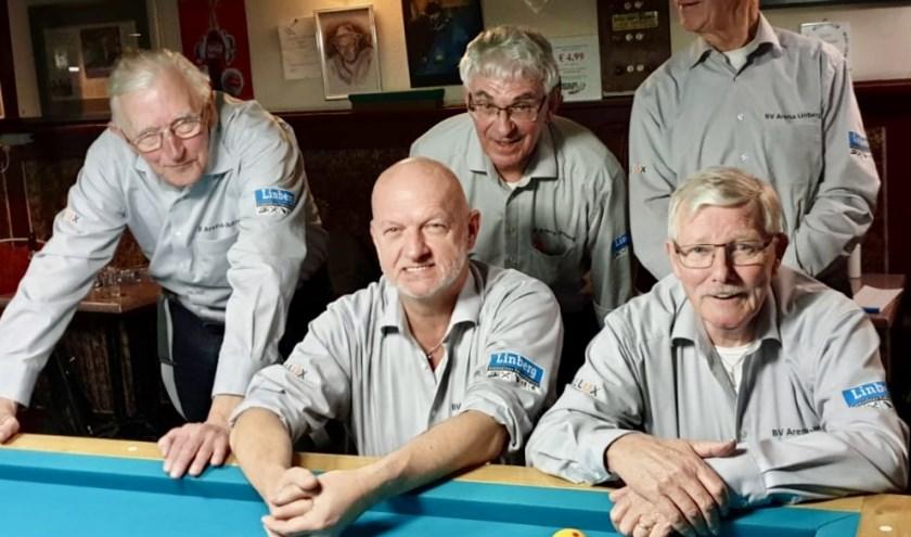 De spelers van team Arena-Linberg 1