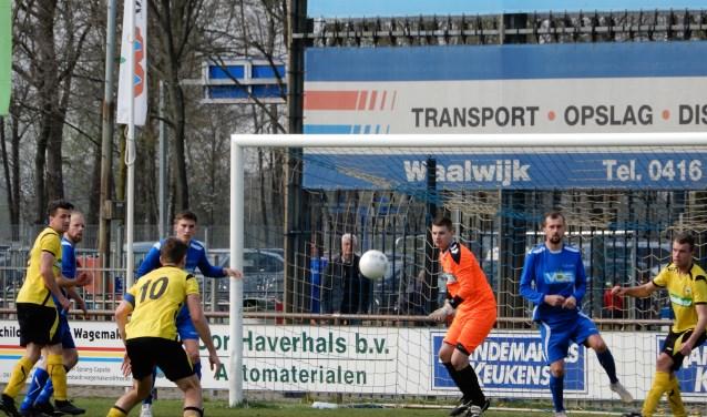 SV Capelle heeft in eigen huis met 2-2 gelijkgespeeld tegen Sparta'30. Foto: MW fotografie