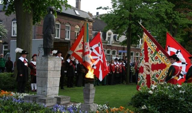 Ieder jaar herdenkt Valkenswaard de in de Tweede Wereldoorlog gesneuvelde militairen.