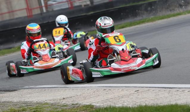Max van Hout uit Gemonde is op 10-jarige leeftijd al fanatiek in zijn sport. Foto: Bas Kaligis / RaceXpress.nl.