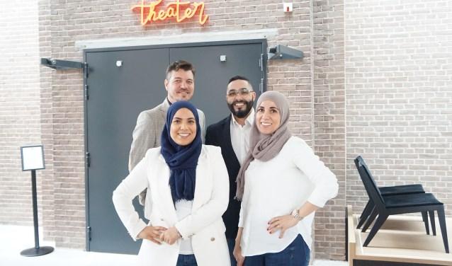 Jochem Otten, Mounir Toub en de Healthy Sisters.