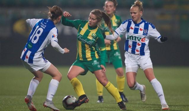 Victoria Pelova maakte in januari vorig jaar haar debuut in het Nederlands Elftal (fotograaf)