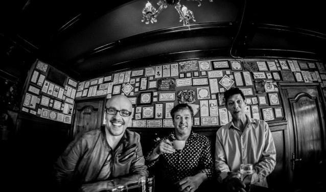 De Mannen van Achterom: John van der Sanden, Luc de Graaf en Maarten van der Zanden. Foto: Artistic Photoworks.