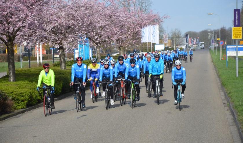 Zaterdag 20 april houdt TC de Liemers de TC de Liemers Reichswald Classic. Voor zowel 'gewone' fietsliefhebbers als de echte wielersporters zijn er speciale routes. (foto: Rinus Kobus)
