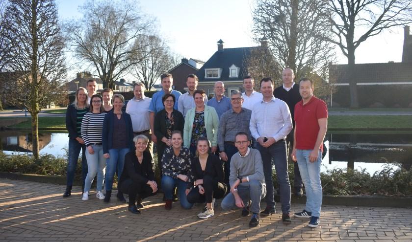Met diverse activiteiten, waaronder de survivathlon, haalt het Team Welkom Wierden geld op voor de Roparun. Foto: Jolien van Gaalen.