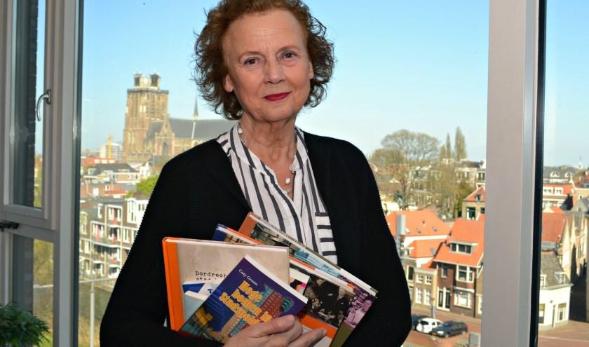 Caty Groen: 'Dordrecht is een uitstekende stad om een moord in te laten gebeuren.' (foto: Arco van der Lee)