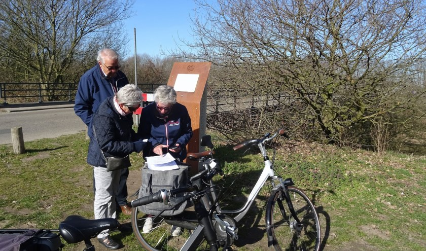 Ap Ramaker, Bauke Terpstra en Frans Timmermans hebben de GPS-tocht uitgezet