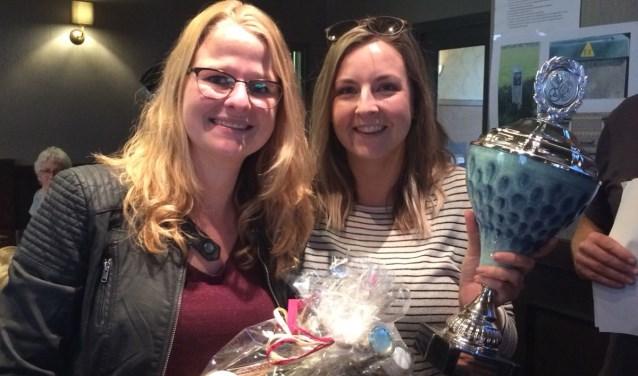 De winnaars van de eerste editie 2018 Mendy en Sophie.