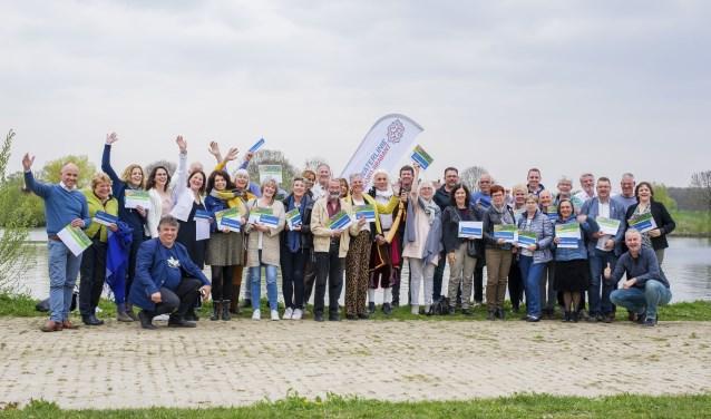 Veertig recreatieondernemers volgden de cursus 'Gastheer van het Landschap voor de Zuiderwaterlinie'. Deze speciale cursus werd georganiseerd door IVN Natuureducatie. Foto: Floris van Hintum/Landbeek