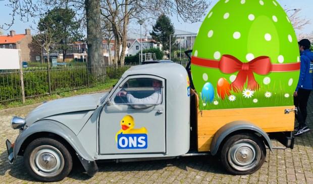 Kom chocolade paaseieren in het winkelcentrum van Spijkenisse zoeken en haal je lootje op bij ONS.