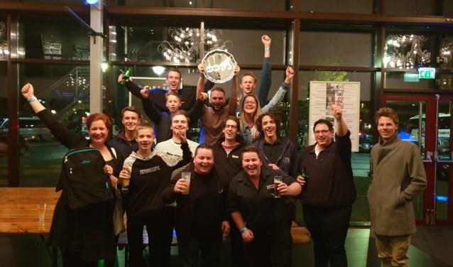 Slagwerkgroep Wilhelmina uit Den Dungen is open Nederlands kampioen Slagwerk geworden.