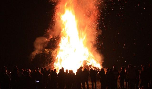 Dit jaar geen paasvuren in Aalten