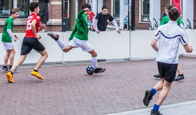 Straatvoetbaltoernooi 2017. Foto: Josanne van der Heijden.