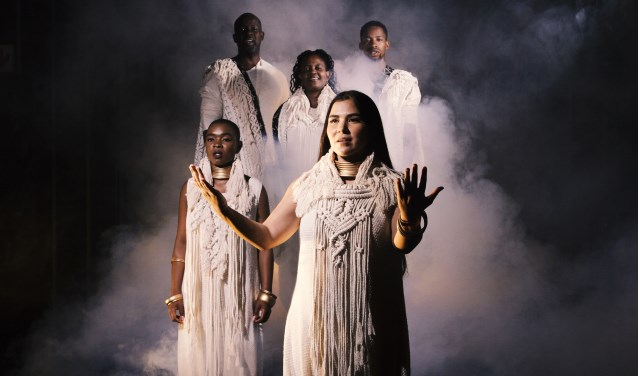 African Passion is een op Pasen geïnspireerd programma waarbij delen van de Matthäus Passion zijn verwerkt. Foto: Marguerite Oelofse