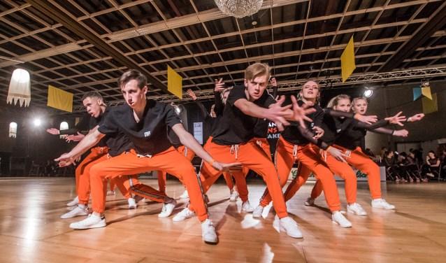 Daarnaast zijn er ook wedstrijden streetdance, ballroom en latin dansen. (foto: Arjan Broekmans)