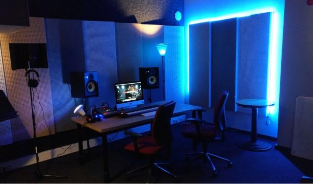 In de Popcentrale in Dordrecht werd woensdagochtend een nieuwe ruimte gelanceerd: Studio N. (Foto: Bart Kuntz)