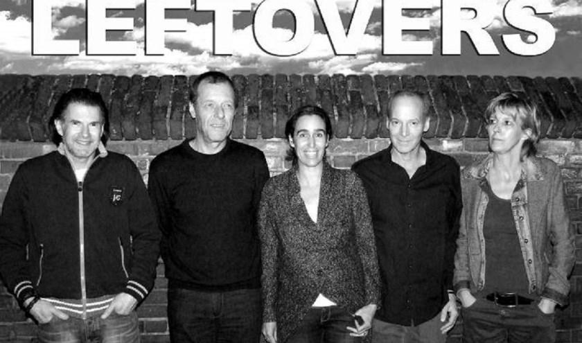 De band Leftovers speelt zondag in de Gildenbond in Kaatsheuvel.