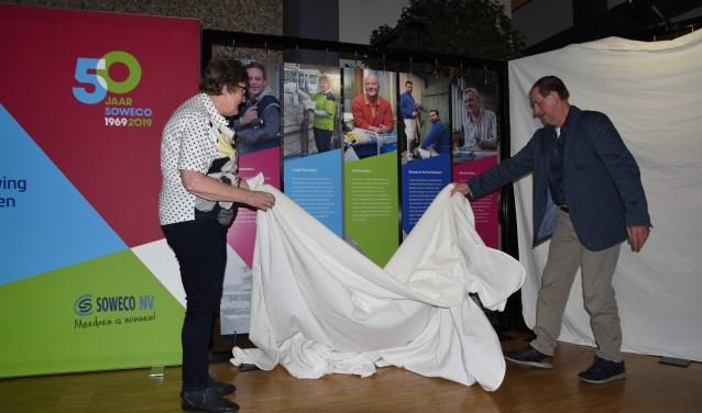 De tentoonstelling 50 jaar Soweco is tot en met 10 mei te zien in Vriezenveen.