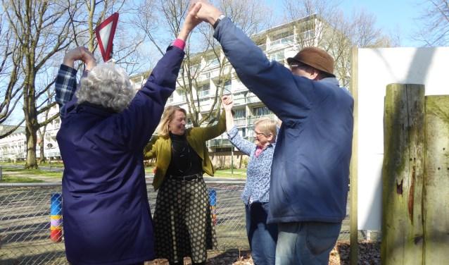 Renkum voor Elkaar hoopt in Doorwerth meer buurtcirkels te kunnen starten. (foto: Marnix ten Brinke)