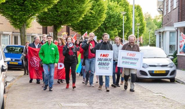 Voorafgaand aan de 1 mei-viering wordt er net als vorig jaar een demonstratieve tocht gehouden in de omgeving van het wijkcentrum.