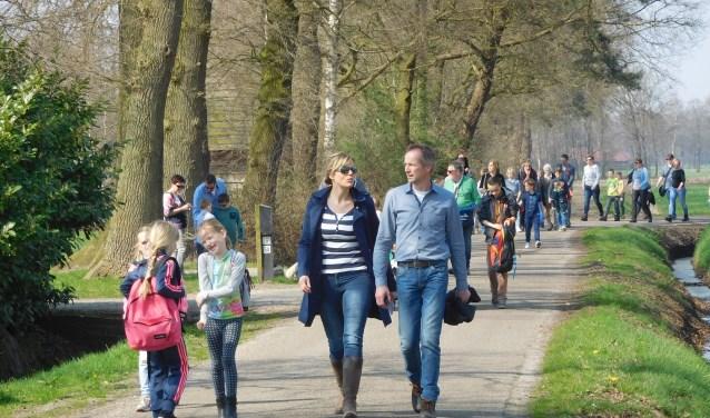 Komende zondag staat de 56e Tukkerstocht in Albergen op de wandelagenda.
