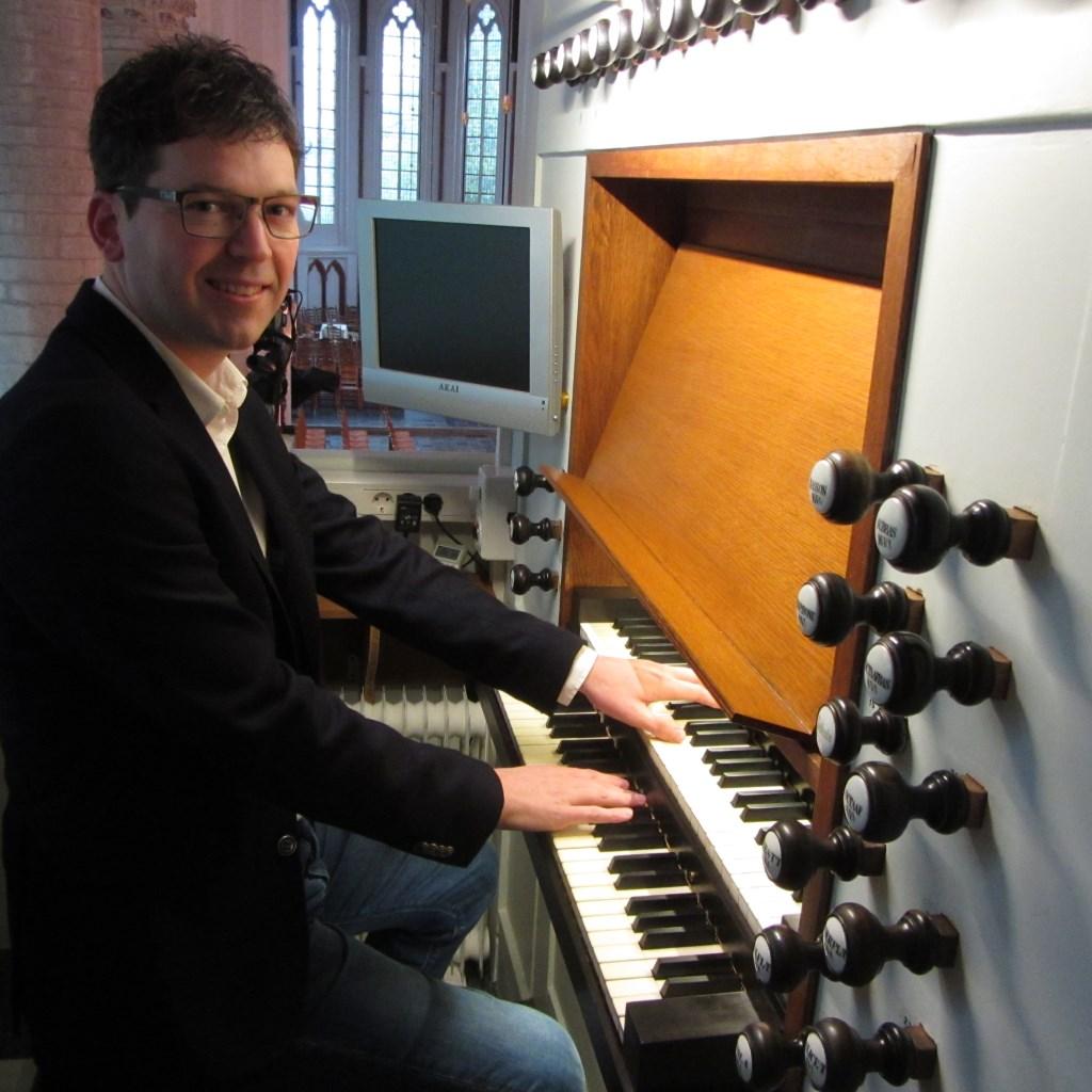 Mark Christiaanse organist Foto: Corinda Christiaanse © Persgroep