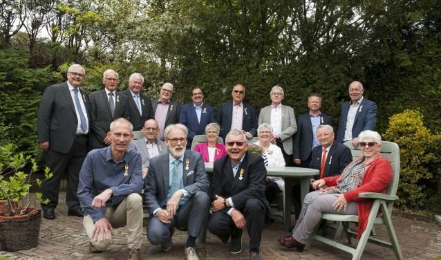 In de gemeente Lingewaard zijn in De Valom in Huissen zeventien personen koninklijk onderscheiden. (foto: Ellen Koelewijn)
