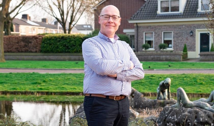 Jan Sasbrink wil zich als steunfractielid inzetten voor natuur en milieugerelateerde zaken. Foto: Nienke Runneboom.