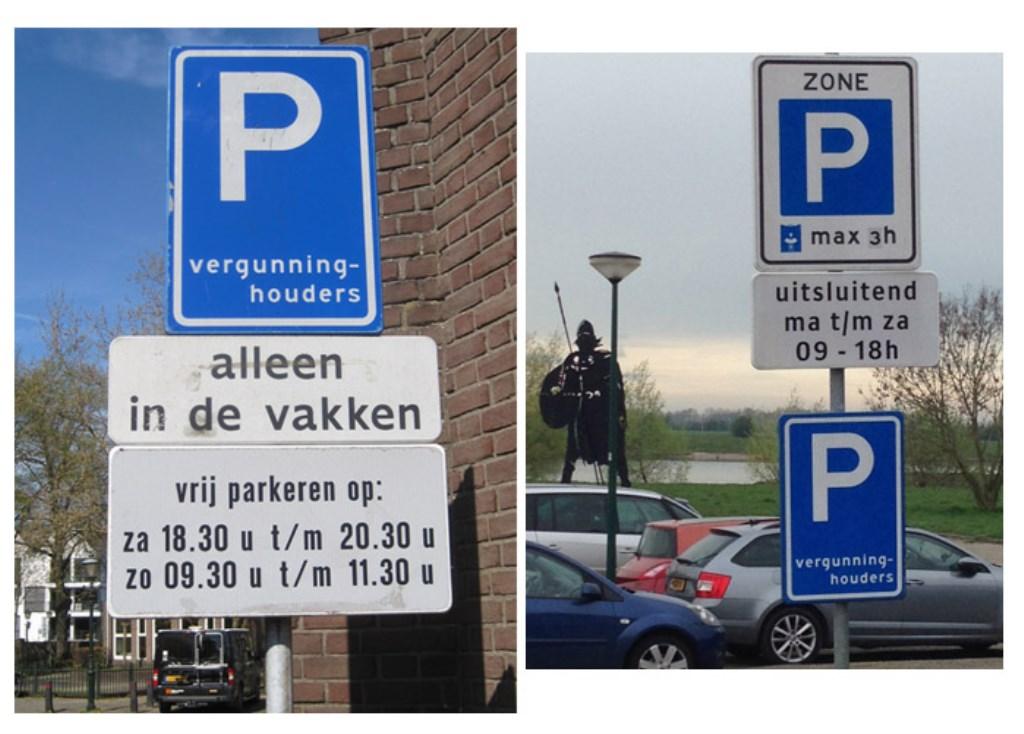 parkeren eenduidigheid?  © Persgroep