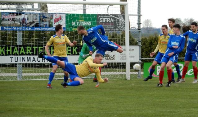 SV Capelle heeft de utwedstrijd tegen GDC met 3-2 verloren.Foto: MW fotografie