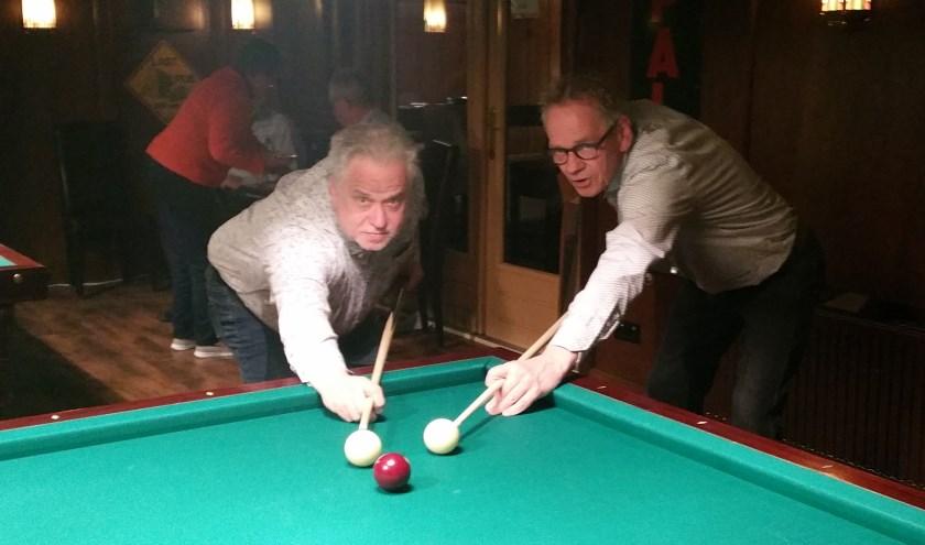 André Penterman en Wim Tijink vieren een lustrum met 't Heukske. De club gaat een tien over rood-toernooi houden.