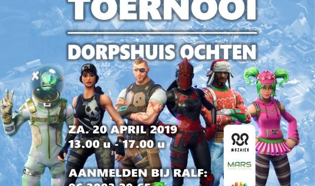 Poster Fortnite Toernooi