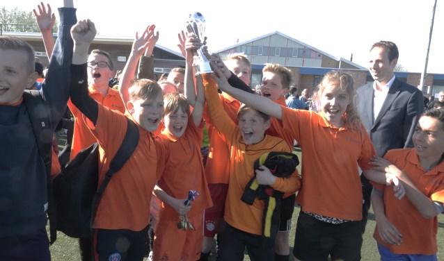 De Oranje Nassauschool mag Culemborg vertegenwoordigen bij het regionale toernooi in Houten
