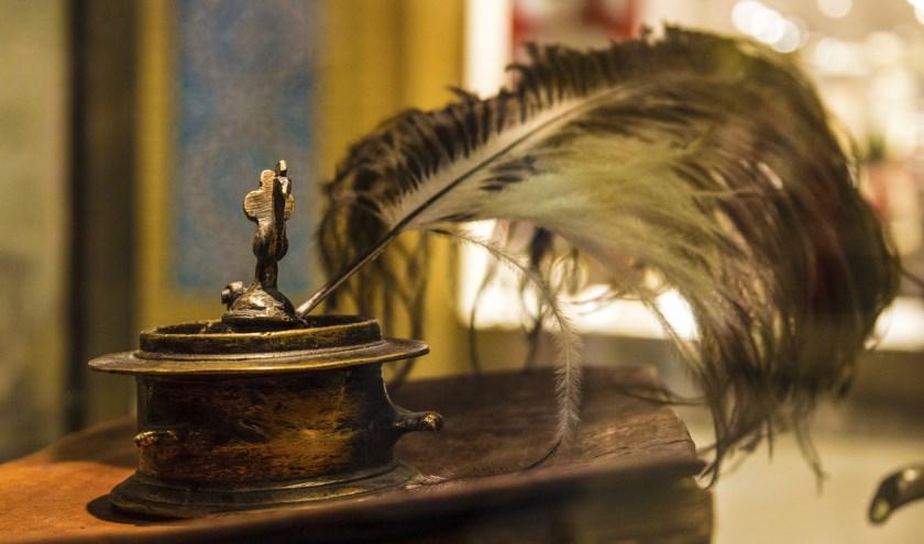 Schrijven met een ganzenveer