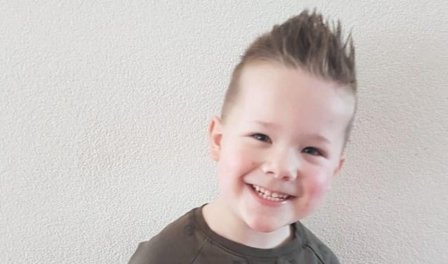 Kick is de Jarige van de Week. Hij viert vandaag (donderdag 18 april) zijn vijfde verjaardag.